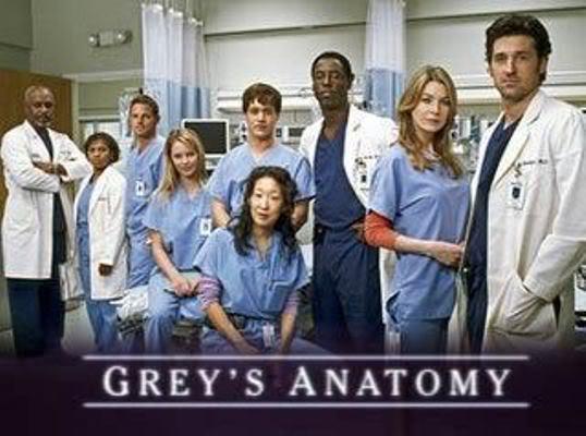 Grey's Anatomy   feito nuvem